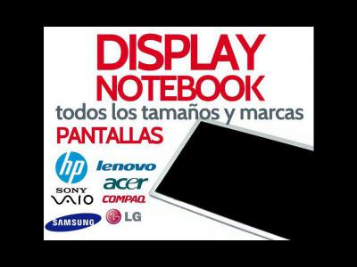 Varios  Display para Notebooks y Netbooks