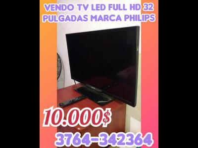 Varios  VENDO TV LED FULL HD 32 PULGADAS MARCA PHILIPS